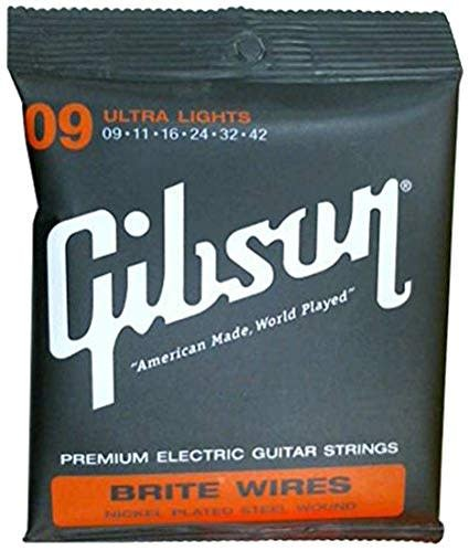 Gibson Gibson Brite Wires Ultra Light, 9-42