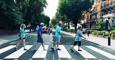 A letter from Justin: Walking across Abbey Road with Dad...
