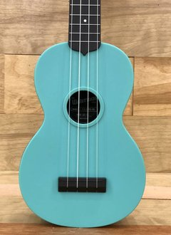 Kala Kala Glow-In-The-Dark Aqua Matte Soprano Waterman Ukulele