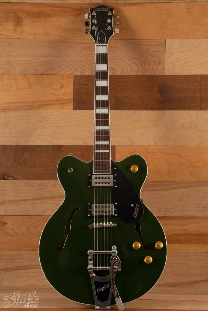 Gretsch Gretsch G2622T Streamlinere284a2 Center Block with Bigsby®, Broad 'Trone284a2 Pickups, Torino Green