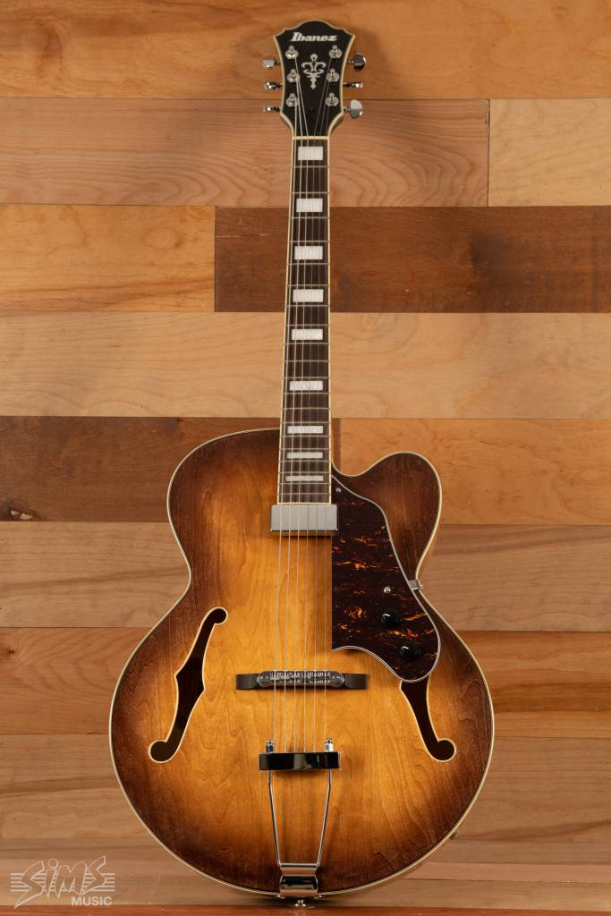 Ibanez Ibanez Artcore AF71F Hollow-body Guitar- Tobacco Brown