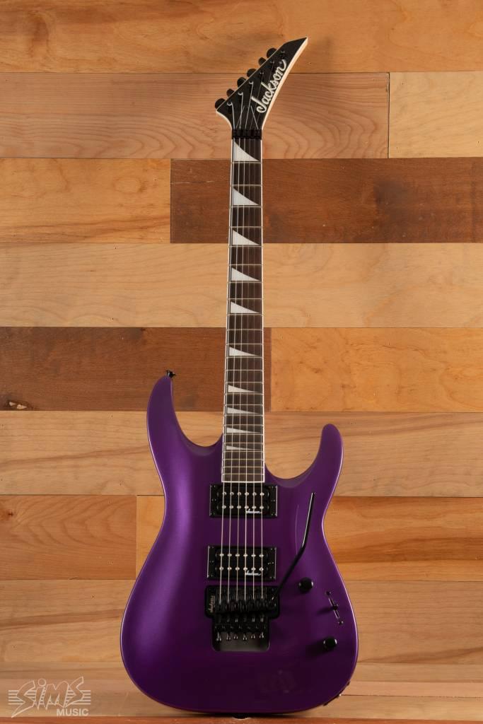 Jackson Jackson JS32DKA JS Dinky Arch Top, Pavo Purple