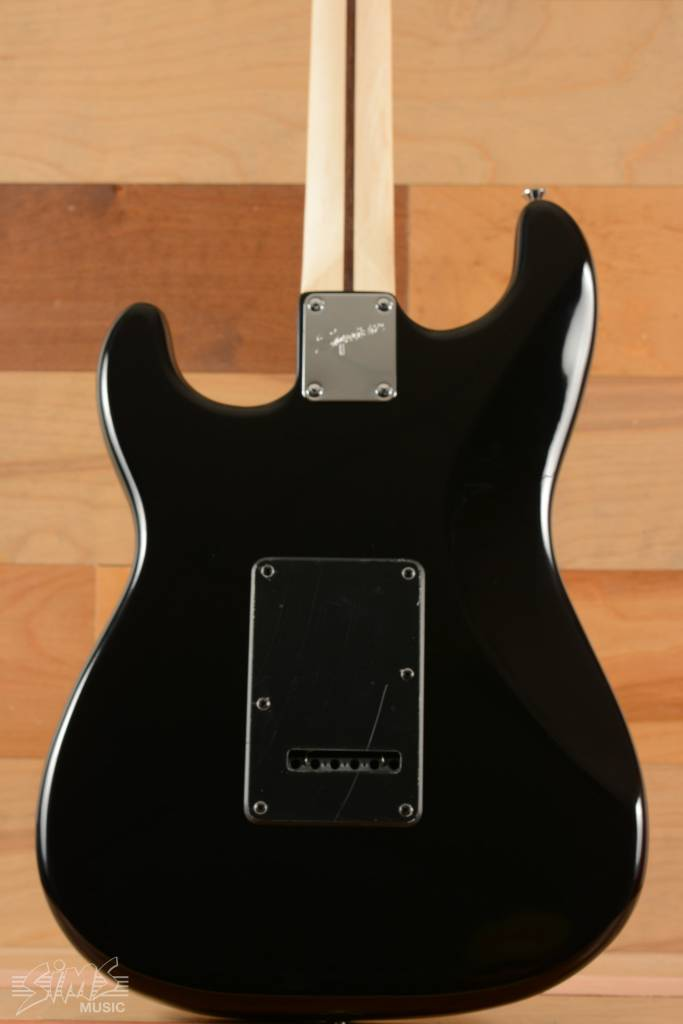 Squier Squier Black and Chrome Standard Stratocaster® HSS, Laurel Fingerboard, Black