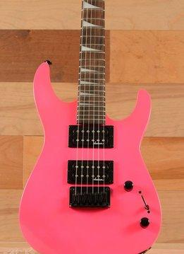 Jackson Jackson JS Series DinkyTM Minion JS1X, Rosewood Fingerboard, Neon Pink