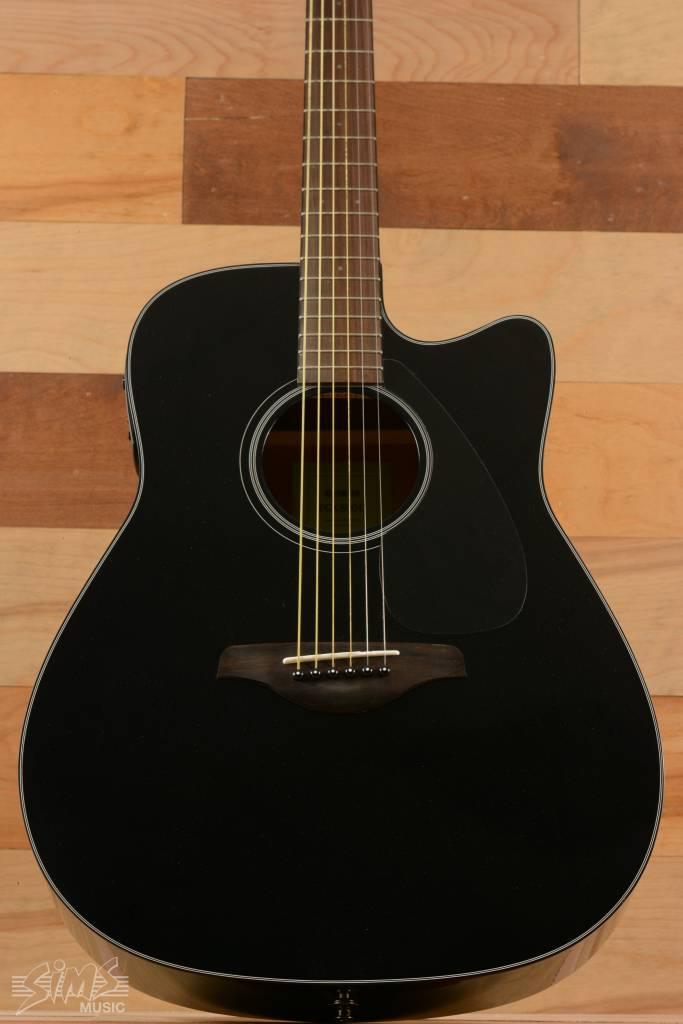 Yamaha Yamaha FGX800C Acoustic Guitar, Black