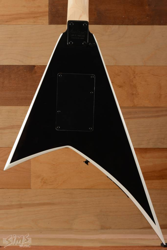 Jackson Jackson JS Series Rhoads JS32, Rosewood Fingerboard, Black with White Bevels
