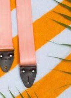 Fuzz Original Fuzz Seatbelt Guitar Strap - Millennial Pink