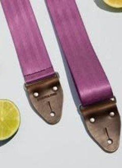 Fuzz Original Fuzz Seatbelt Guitar Strap - Purple
