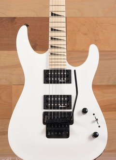 Jackson Jackson DKA-M JS32 JS Series DinkyTM, Maple Fingerboard, Snow White