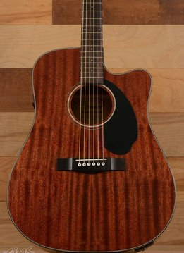 Fender Fender CD-60SCE All Mahogany, Natural