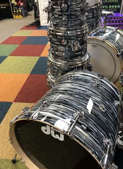 DW Drum Workshop Collector's Series 5 Piece Shell Pack, Black Oyster