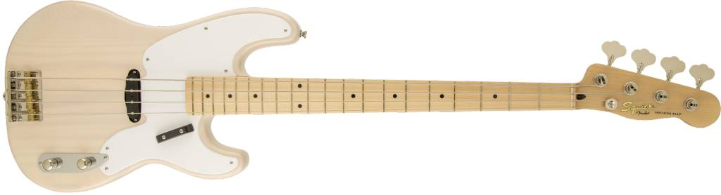 Squier Squier Classic Vibe Precision Bass® '50s,  Maple Fingerboard,  White Blonde