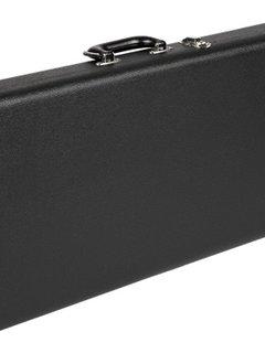 Fender Fender Strat/Tele Deluxe Black with Orange Plush Interior Case