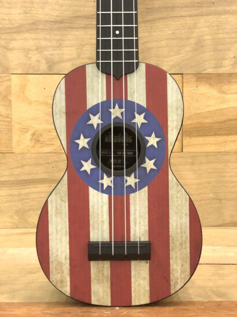 Kala Kala Vintage Stars and Stripes Soprano Ukulele