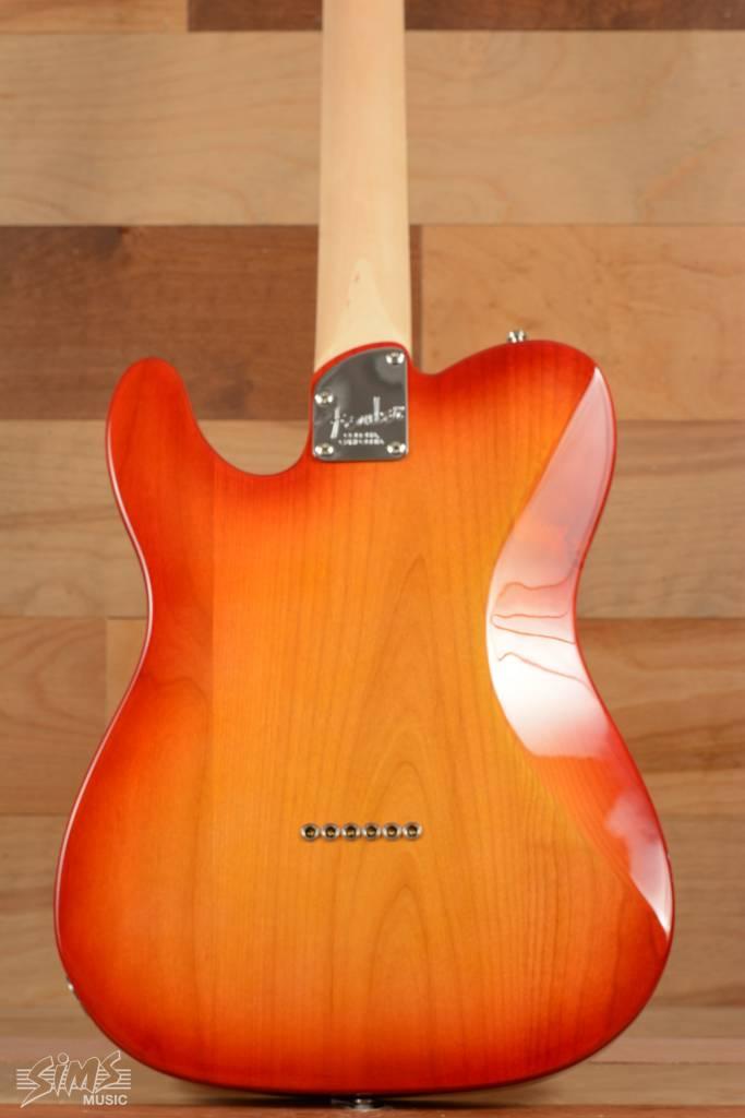 Fender American Elite Telecaster® , Ebony Fingerboard, Aged Cherry Burst
