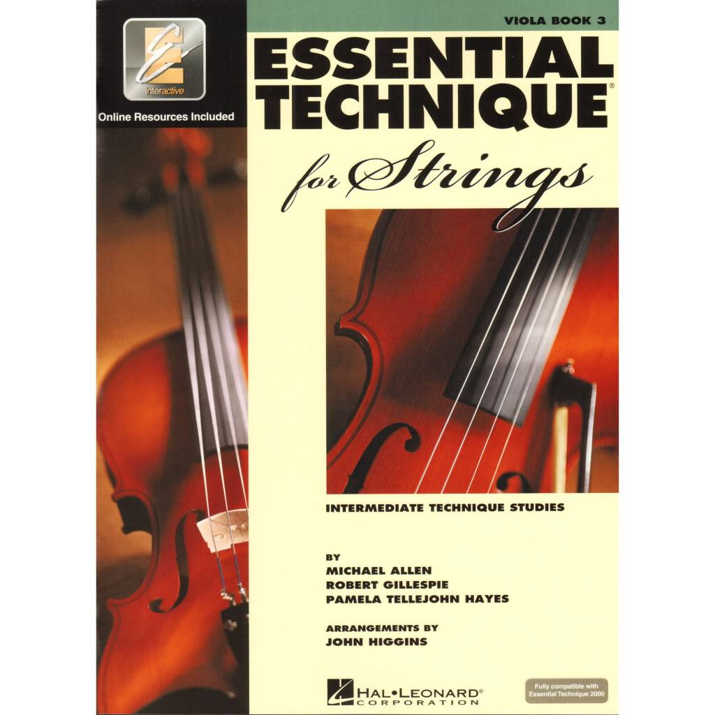 Hal Leonard Essential Technique Viola Book 3