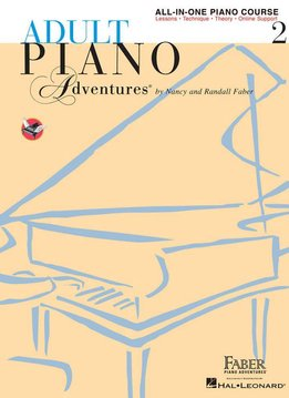 Hal Leonard Adult Piano Adventures All-In-One Piano Course 2