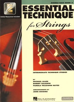 Hal Leonard Essential Technique Double Bass Book 3