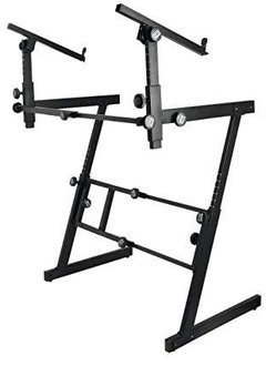 On-Stage On-Stage KS7365EJ Folding-Z Stand w/ 2nd Tier