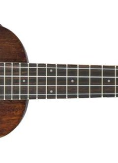 Gretsch Gretsch G9110-L Concert Long-Neck A.E. Ukulele with Gig Bag, Fishman® Kula Pickup, Vintage Mahogany Stain