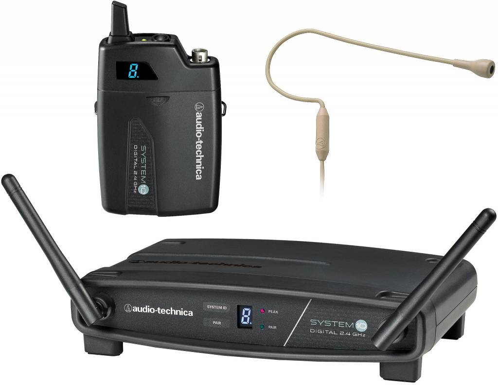 Audio-Technica Audio-Technica ATW-1101/H92-TH System 10 Wireless System with PRO 9, Beige