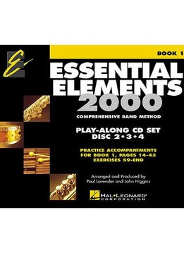 Hal Leonard Essential Elements 2000 CD Book 1