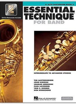 Hal Leonard Essential Technique Eb Alto Sax Book 3