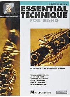 Hal Leonard Essential Technique Bb Clarinet Book 3