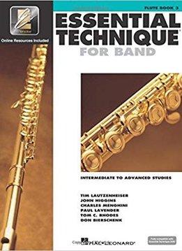 Hal Leonard Essential Technique Flute Book 3