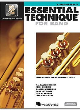 Hal Leonard Essential Technique Bb Trumpet Book 3