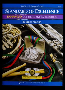 Kjos Standard of Excellence B-Flat Trumpet Book 2