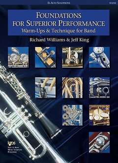 Kjos Foundations for Superior Performance Eb Alto Sax