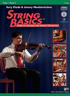 Kjos String Basics Viola, Book 3 - Terry Shade