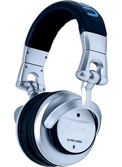 Stanton Headphones with Built-in EQ and Blue BPM Driven LED's