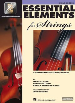 Hal Leonard Essential Elements Viola Book 2