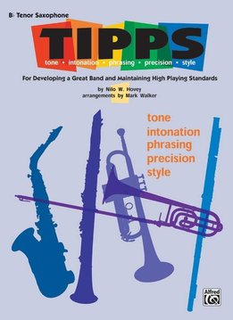 TIPPS for Bands Bb Tenor Sax