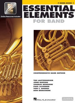Hal Leonard Essential Elements French Horn Book 1
