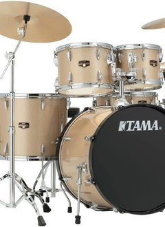 Tama Tama Imperial Star 5pc Kit with Hardware and Cymbals, Champagne Mist