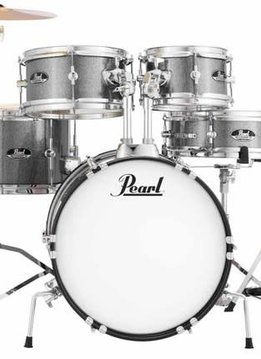 Pearl Pearl Roadshow Jr. Complete 5-Piece Junior Drumset with Hardware and Cymbals, Grindstone Sparkle