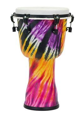 "Pearl Pearl 10"" Top Tuned Djembe, Purple Haze"