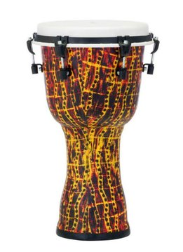 "Pearl Pearl 12"" Top Tuned Djembe, Tribal Fire"