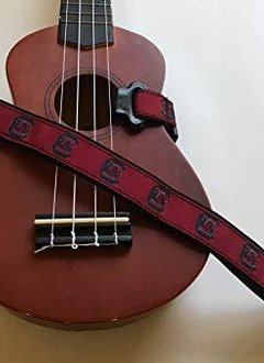 Spirit Straps Ukulele Strap - SC Gamecocks