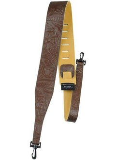 Perri Brown Western Flower Strap