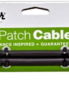 "Fender Fender 2pk 6"" Patch Cable Black"