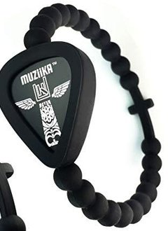Pickbandz Pickbandz Muziika Cross Wristband-Medium