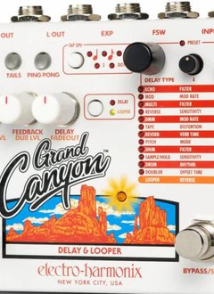 Electro-Harmonix EHX Grand Canyon Delay and Looper *PREORDER*