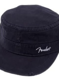 Fender Fender® Military Cap, Black, L/XL