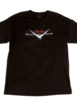 Fender Fender® Custom Shop Original Logo T-Shirt, Black, XL