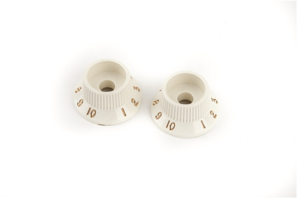 Fender Fender Stratocaster® S-1™ Switch Knobs, Parchment (2)