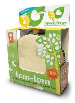 Green Tones Tom-Tom w/ Mallets